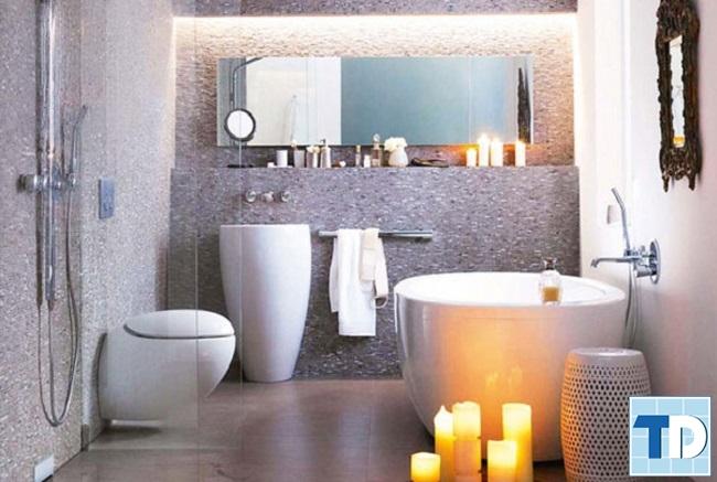 Phòng tắm cao cấp hiện đại