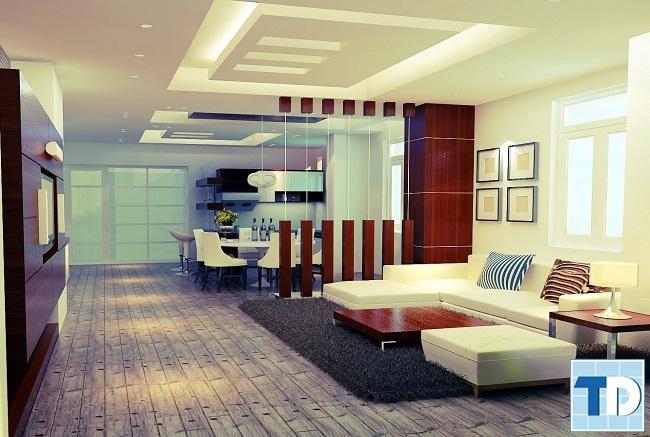 Thiết kế nội thất căn hộCapital Garden