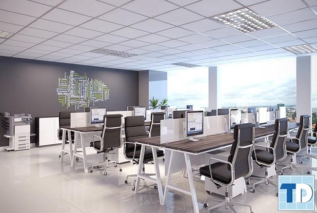Thiết kế văn phòng theo xu hướng mở