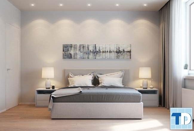 Phòng ngủ con trai đơn giản mạnh mẽ