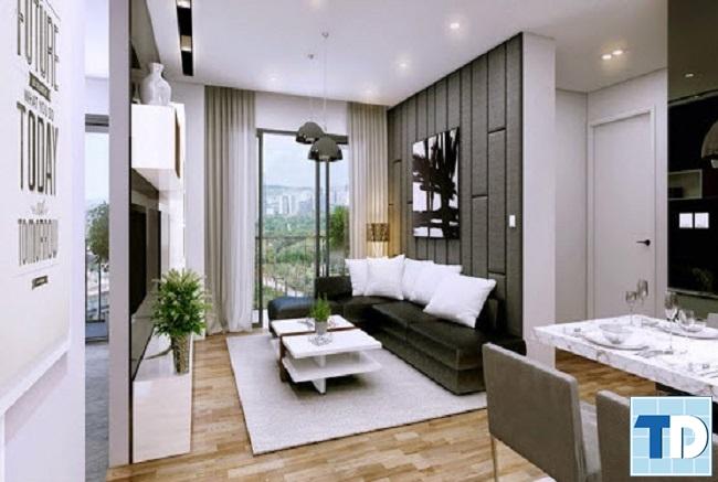 Thiết kế căn hộ FLC 18 Phạm Hùng đẹp hiện đại