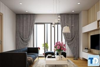 Thiết kế nội thất chung cư Helios Tower 90m2 - nhà cô Mai