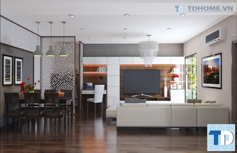 Thiết kế nội thất chung cư Capital Garden 102 Trường Chinh - Chị Trang