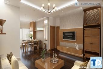 Thiết kế nội thất chung cư cao cấp IMPERIA GARDEN - Chú Thông
